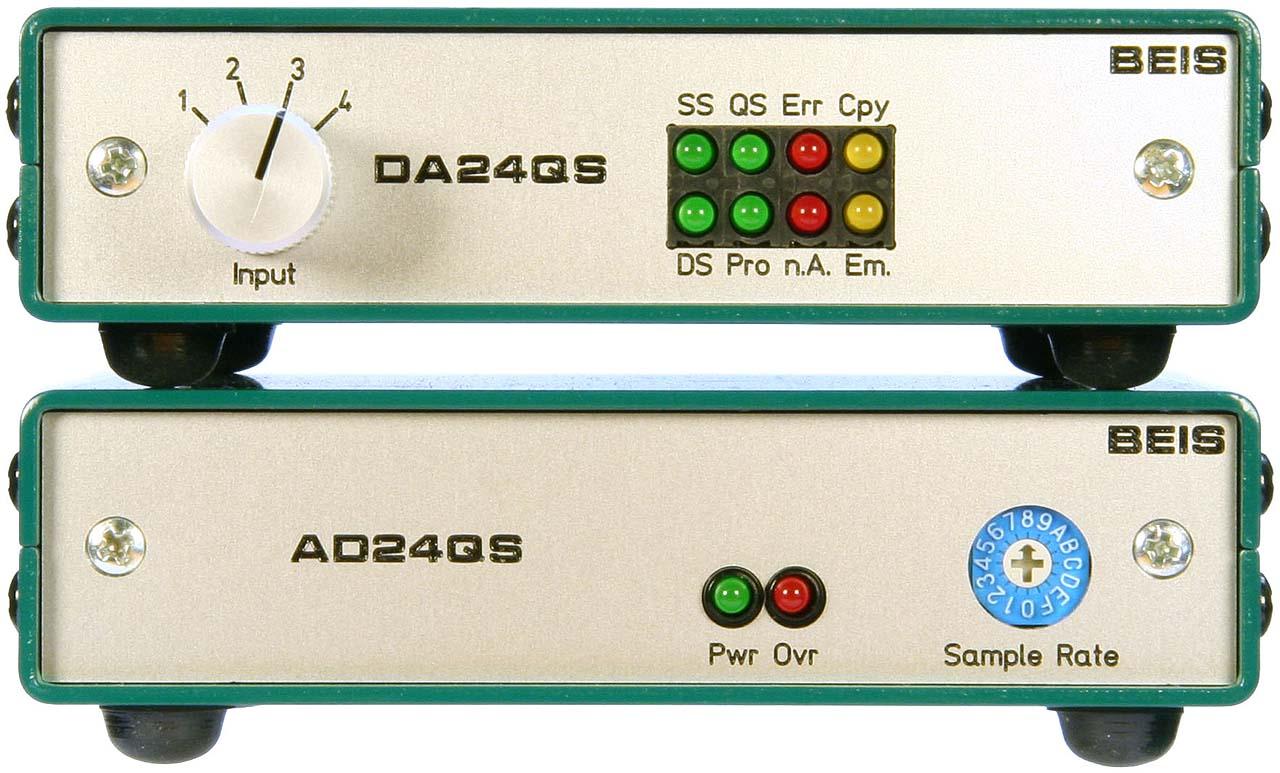 Ad24qs Audio Analog To Digital Converter 24 Bit 192 Khz Conversion Adconverter Addaconvertercircuit Circuit Enclosures And Front Panels