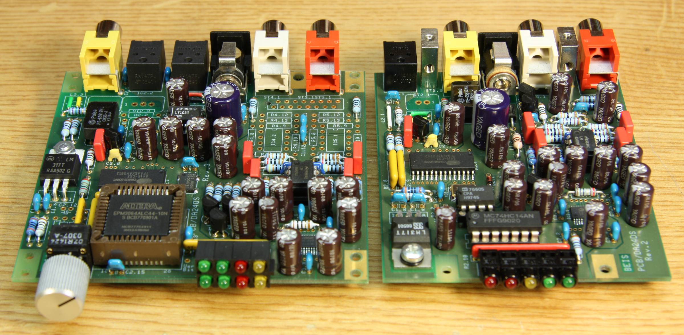Da24qs And Da24ds Audio Digital To Analog Converters 24 Bit 192 Learn About Electronic Circuits Circuit Click Enlarge