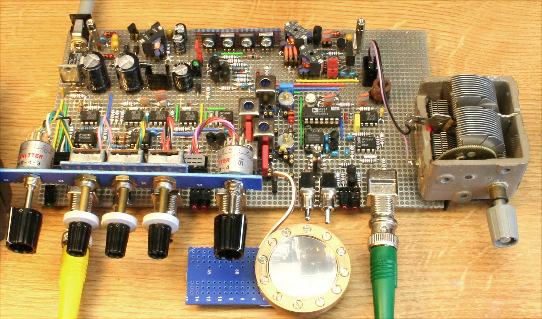 practical implementation of the cm2the prototype board