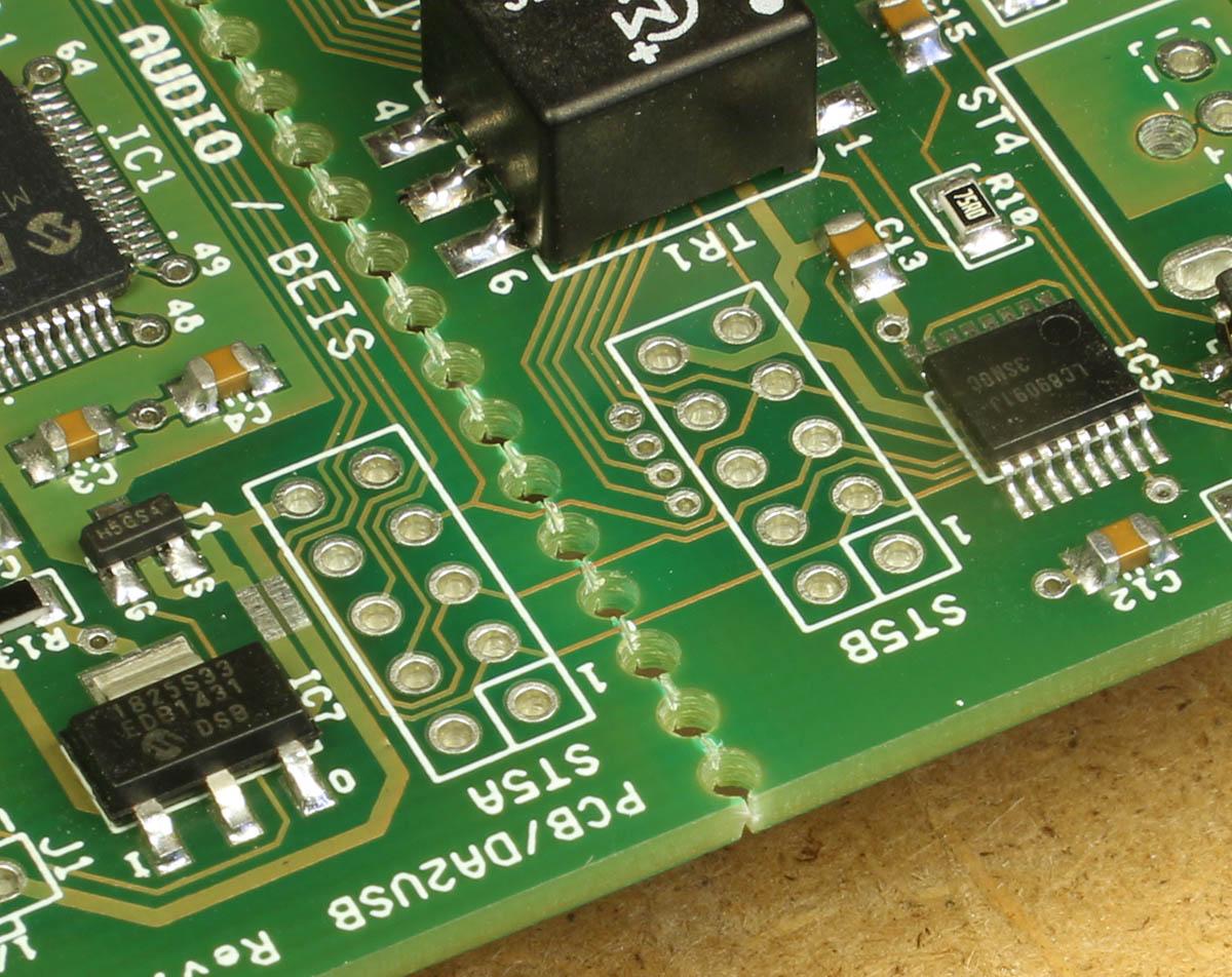 Da2usb Digital Audio To Usb Interface Pcs Blank Universal Pcb Diy Circuit Board 8 X 12 Cm For Electronic When You Saw The
