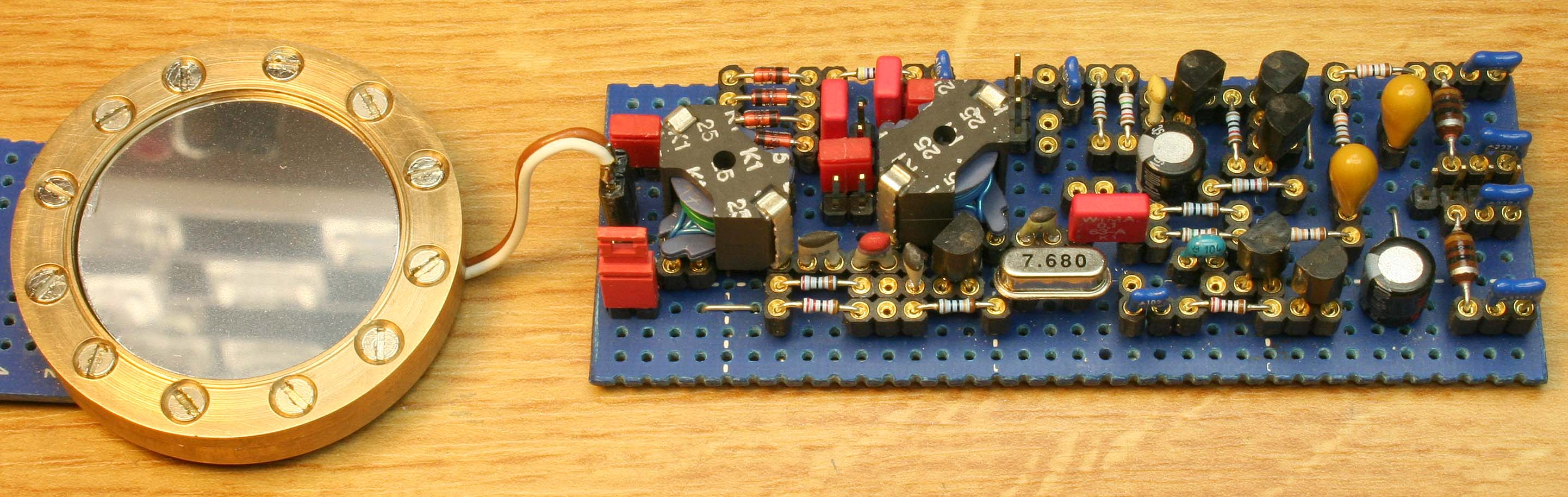 Photo of the RF-circuit board