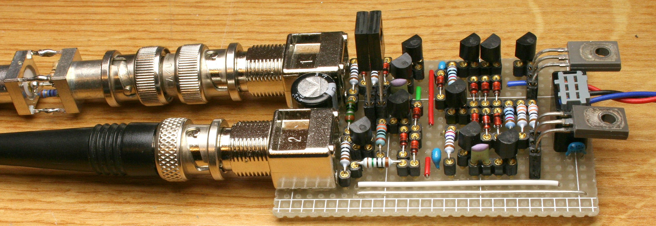 Extreme Low Noise Preampifier Lm324 Op Amp Http Wwwpic2flycom Lm324opamphtml The Prototype Click To Enlarge